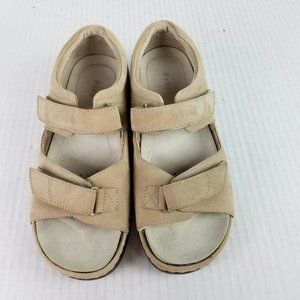 NEW Propet Sz 7 W WIDE Leather Comfort Sandals